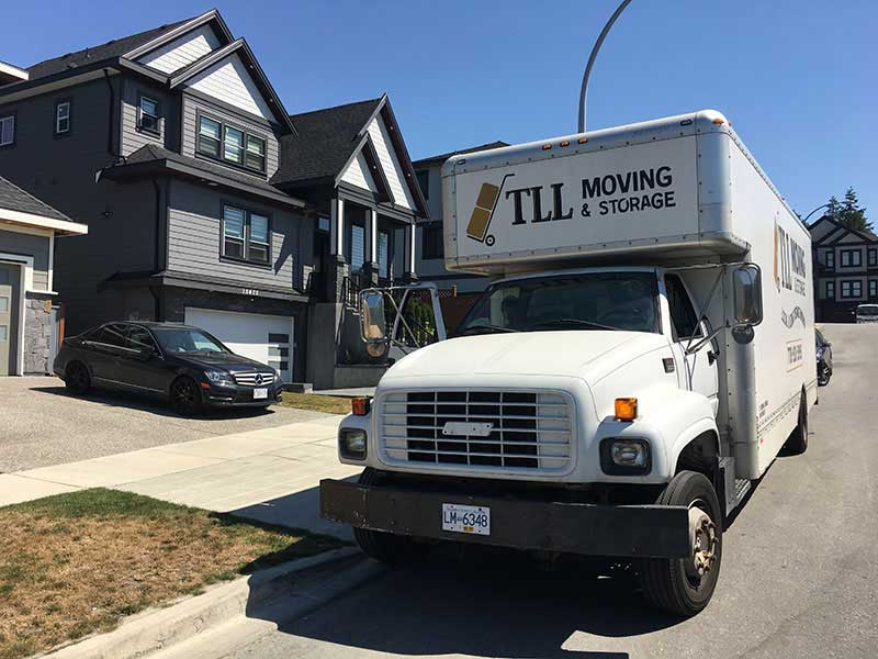 TLL Moving and Storage Photo of a Local Moving Job done in Surrey BC